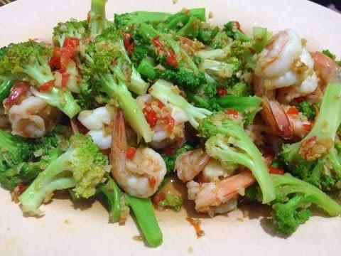 Resep Tumis Brokoli Udang