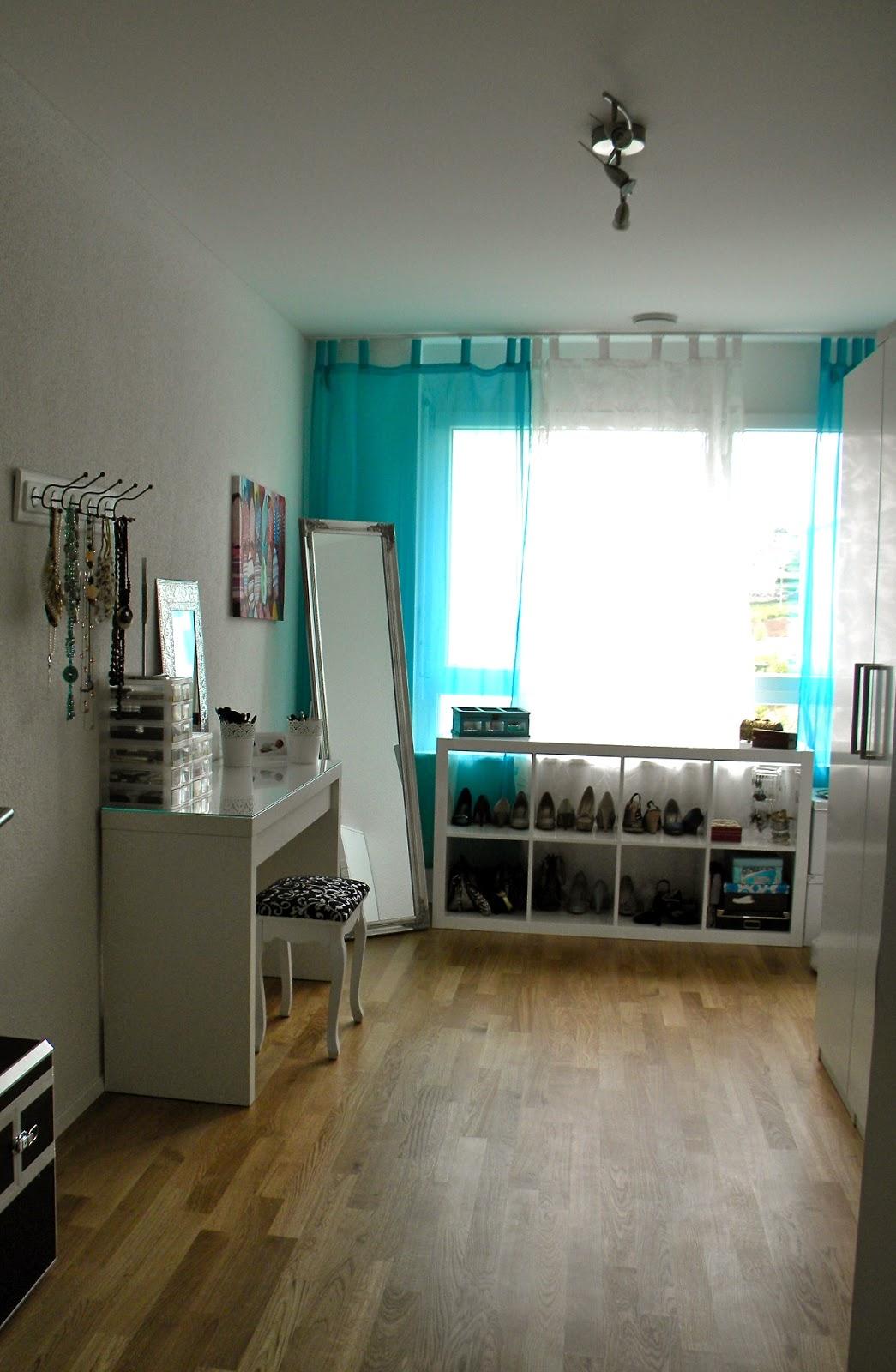 I heart colors blog: ankleidezimmer / makeup room tour