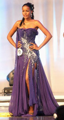 Miss Angola 2011, Leila Lopes