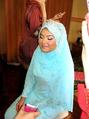 Natural bridal makeup,