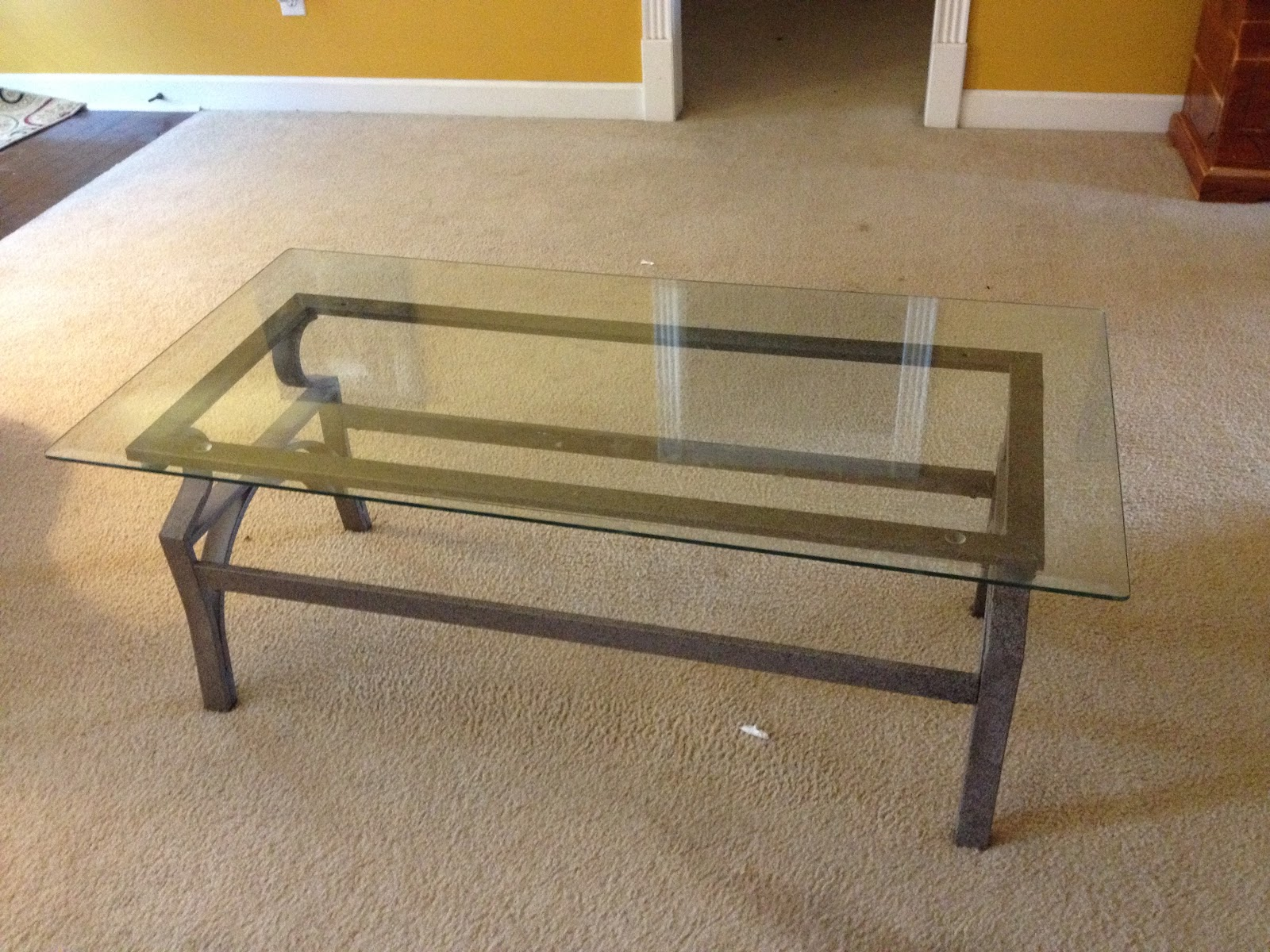 cupcakes and corndogs coffee table redo diy