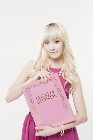 Jessica SNSD PICTURE LEGALLY BLONDE Update
