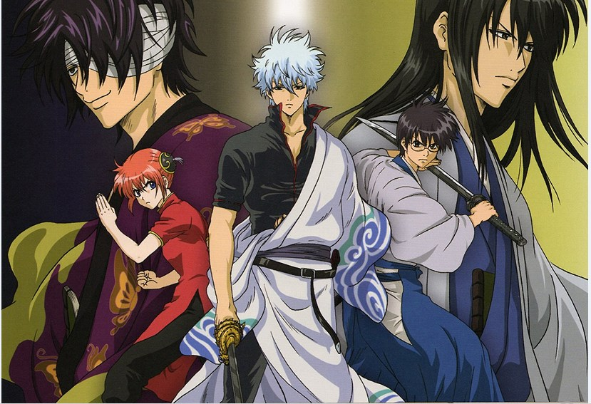 Gintama Episode 1-265 Subtitle Indonesia [Season 01 dan 02]