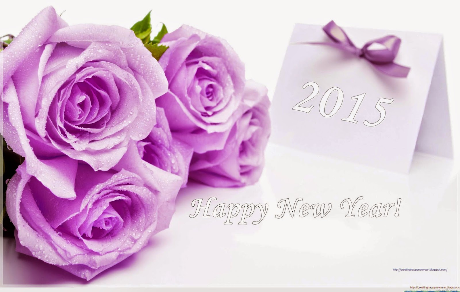Happy New Year 2015 Best Greeting Wallpaper