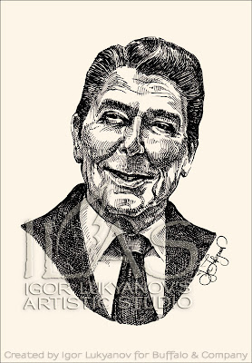 Ronald Reagan portrait