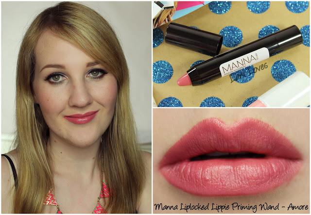 Manna Kadar Liplocked Lippie Priming Lip Wand - Amore review
