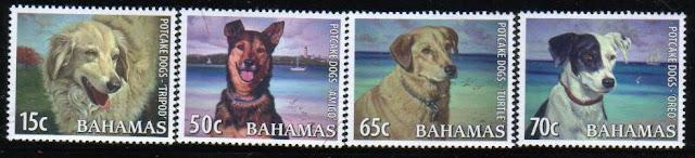 2009年バハマ国 potcake犬の切手
