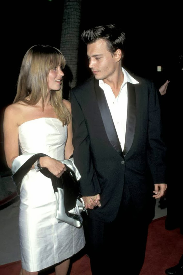 Kate Moss Johnny Depp 90s power couple icons