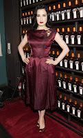 Dita Von Teese at La Maison Cointreau Debuts red carpet