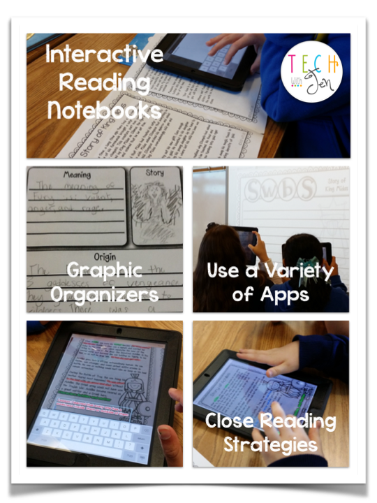 Use the Book Creator app to create interactive reading notebooks during a Greek Mythology Unit.