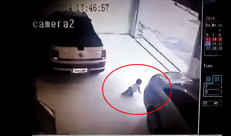 OMG, Baby! Heartbreaking CCTV Video Tells Parents a Lesson
