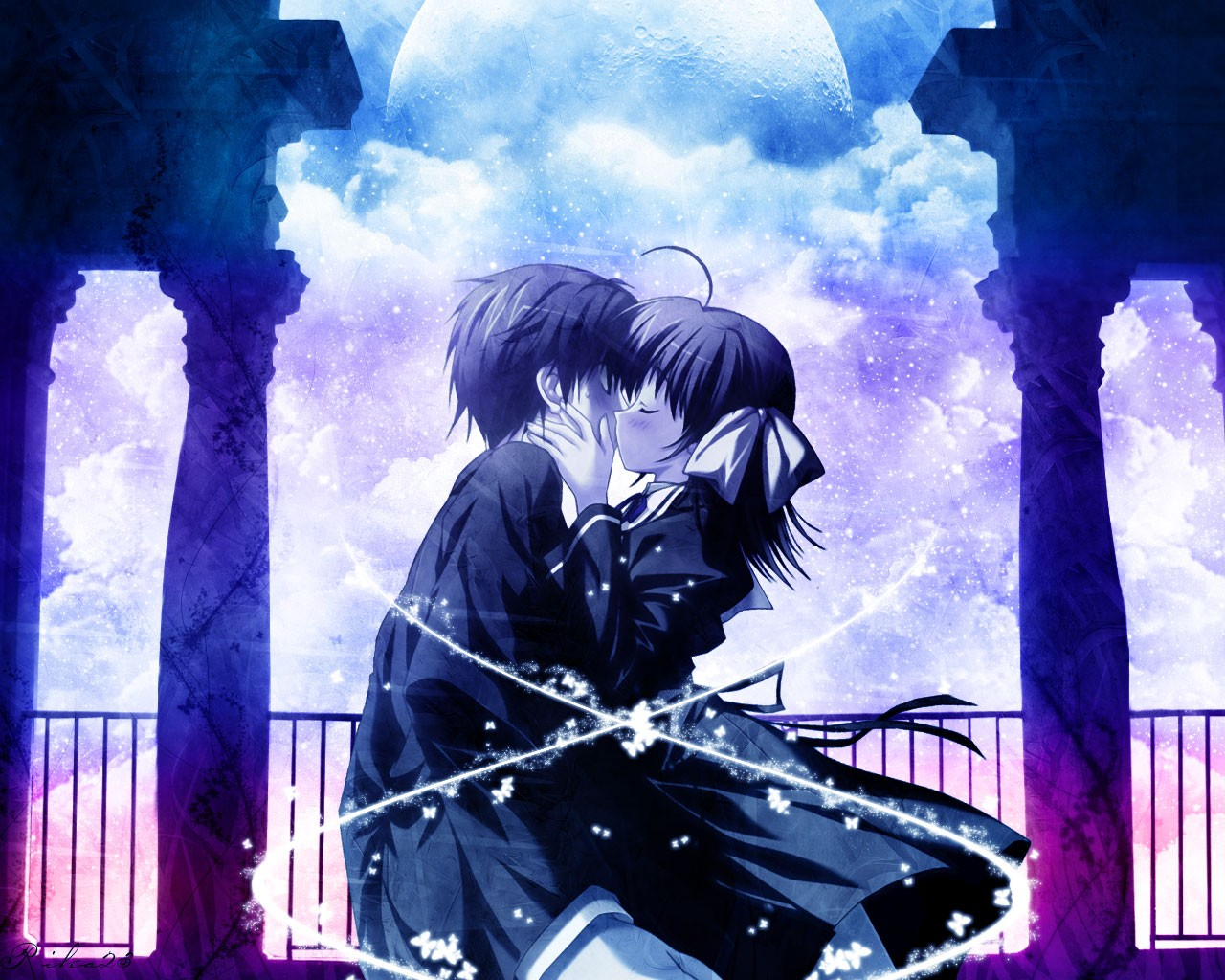 Anime Love Wallpaper Free Download