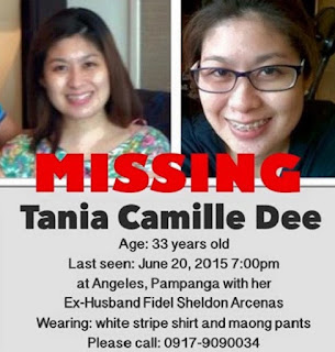 Tania Camille Dee missing