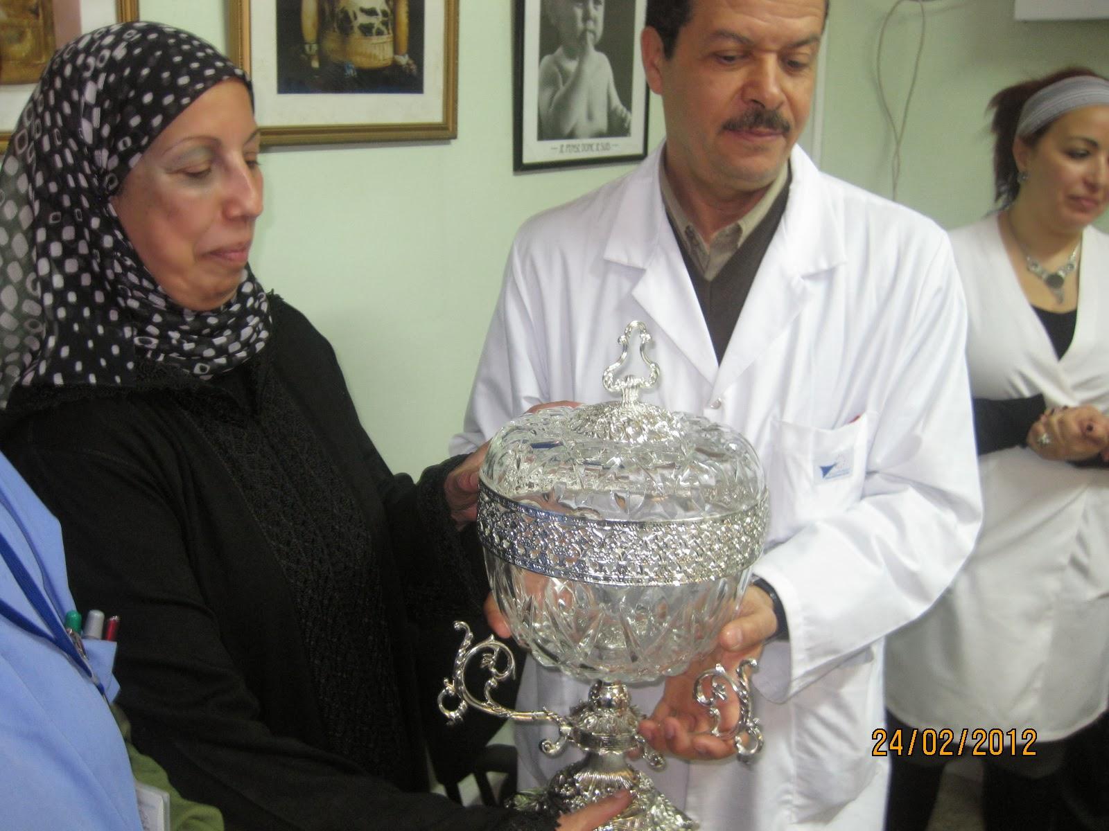 TAKRIME LES INFIRMIERS RETRAITES DU BLOC OPERATOIRE HOPITAL IBNO SINA RABAT