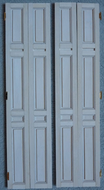 Petit Trianon,Maquette,Volet intérieur