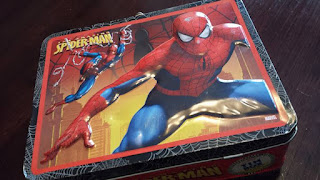 Spiderman activity box, kids activities