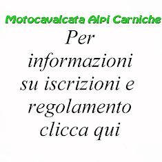 Motocavalcata Alpi Carniche informazioni e iscrizioni 2019