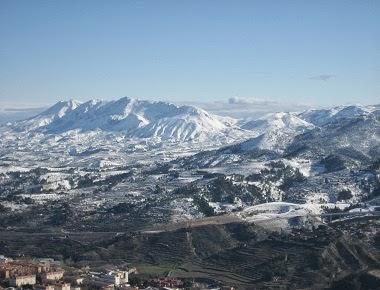 Vista panoràmica de Ramón Molina des de  La Font Roja.