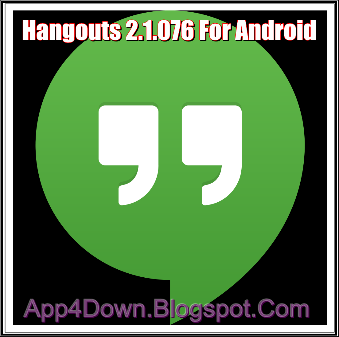 Download Hangouts 2.1.076 For Android APK [APP]