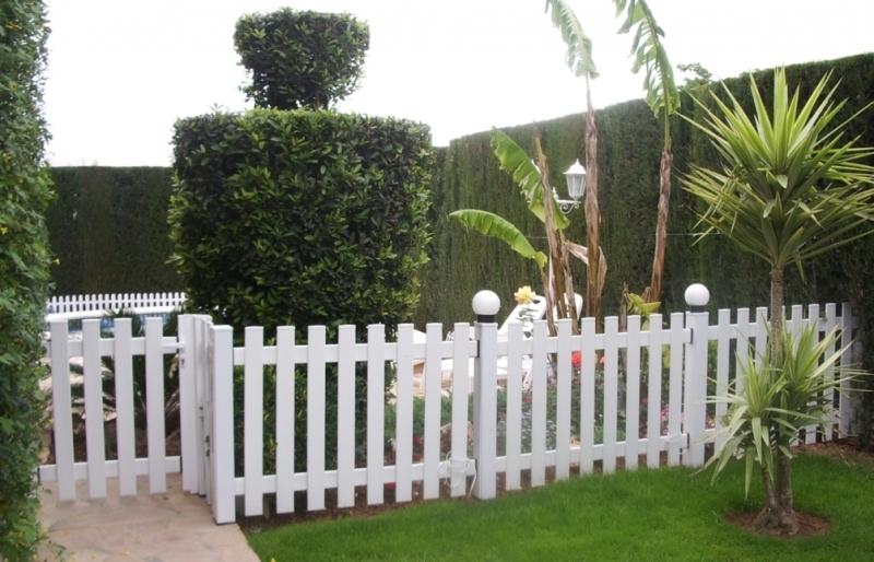 vallas de jardin de plastico amazing fabricantes de seto