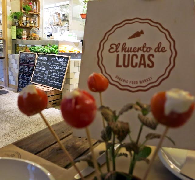 El Huerto de Lucas, Detalle