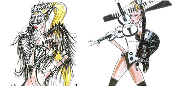 Armani Lady Gaga