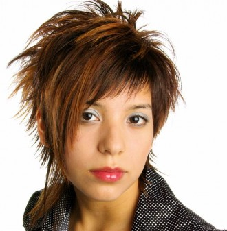 Celebrity Fashion Women Short Hairstyle For Office