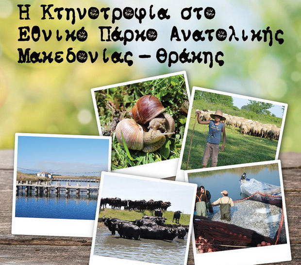 Ημερίδα με θέμα «Η Κτηνοτροφία στο Εθνικό Πάρκο Ανατολικής Μακεδονίας - Θράκης»