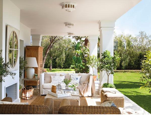 Chill decoraci n salones al aire libre for El mueble especial terrazas