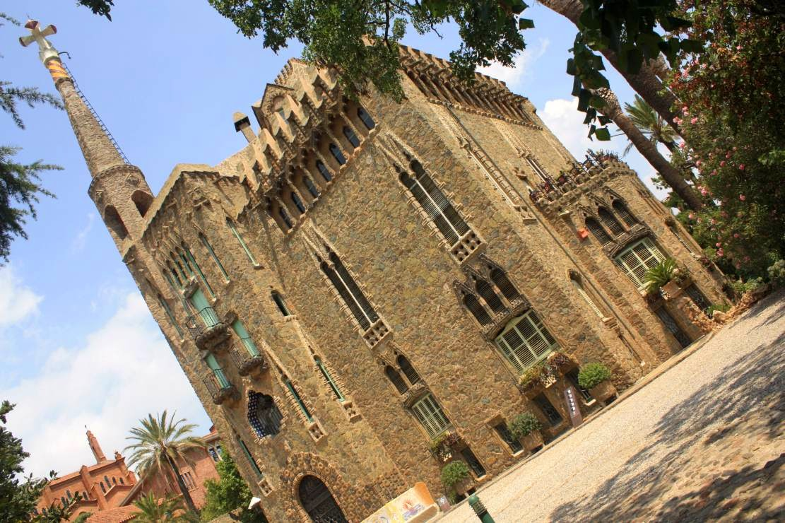 Torre Bellesguard in Barcelona