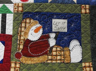 Jane's Snowman Quilt