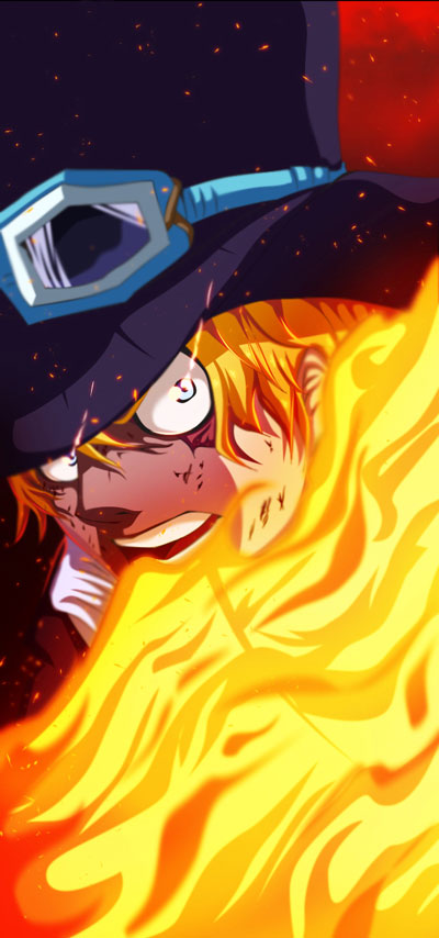 One piece sabo power