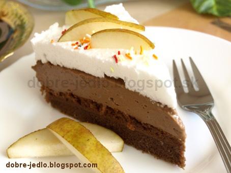 Kakaová torta s čokoládou - recepty
