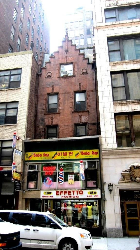 Daytonian In Manhattan A Dutch Colonial Survivor At 18 West 37th Street