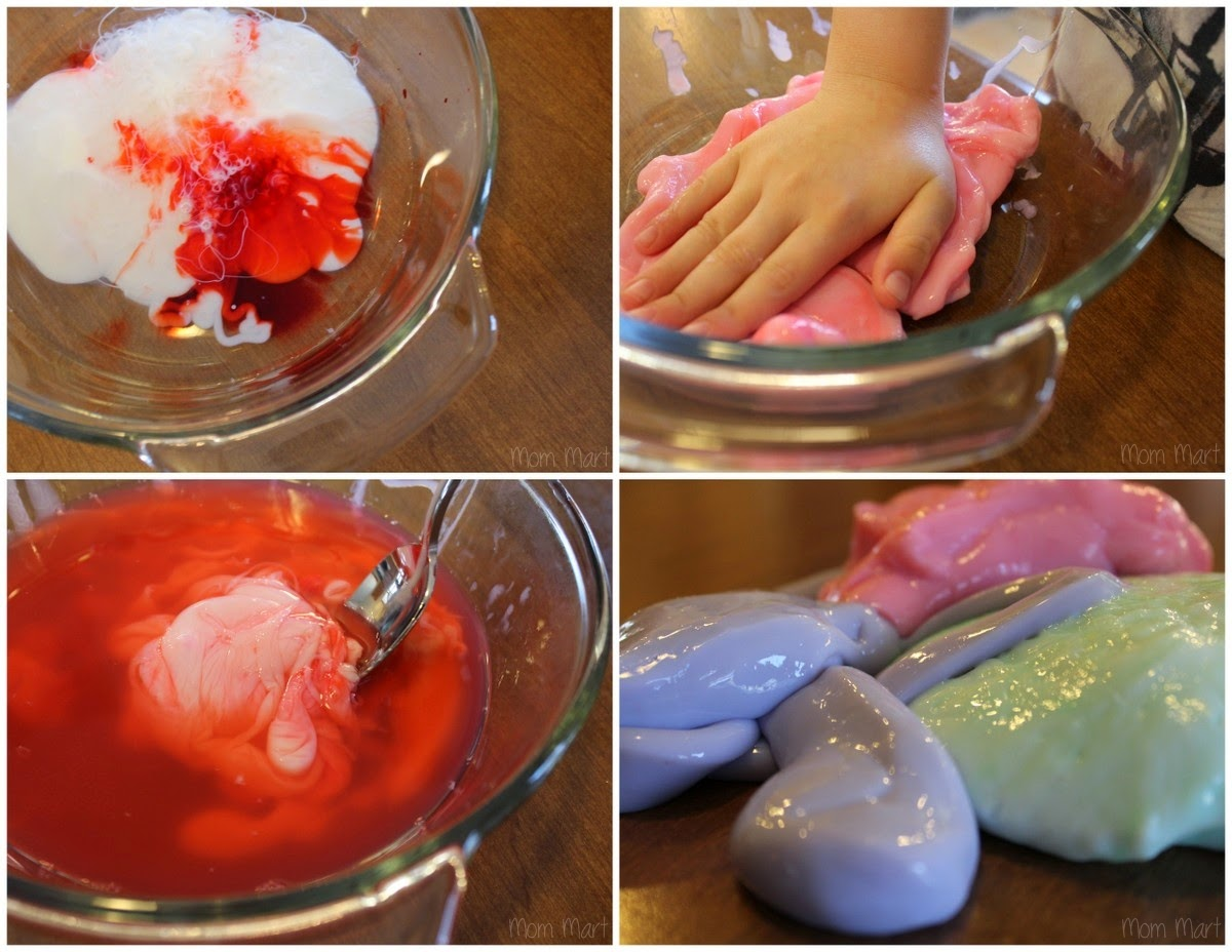 How to make Homemade Gak Hands-On Activity for Kids #CraftsForKids #KidCraft #Activity #DIY #Tutorial
