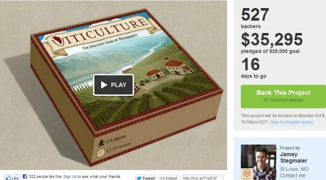 Kickstarter: Viticulture