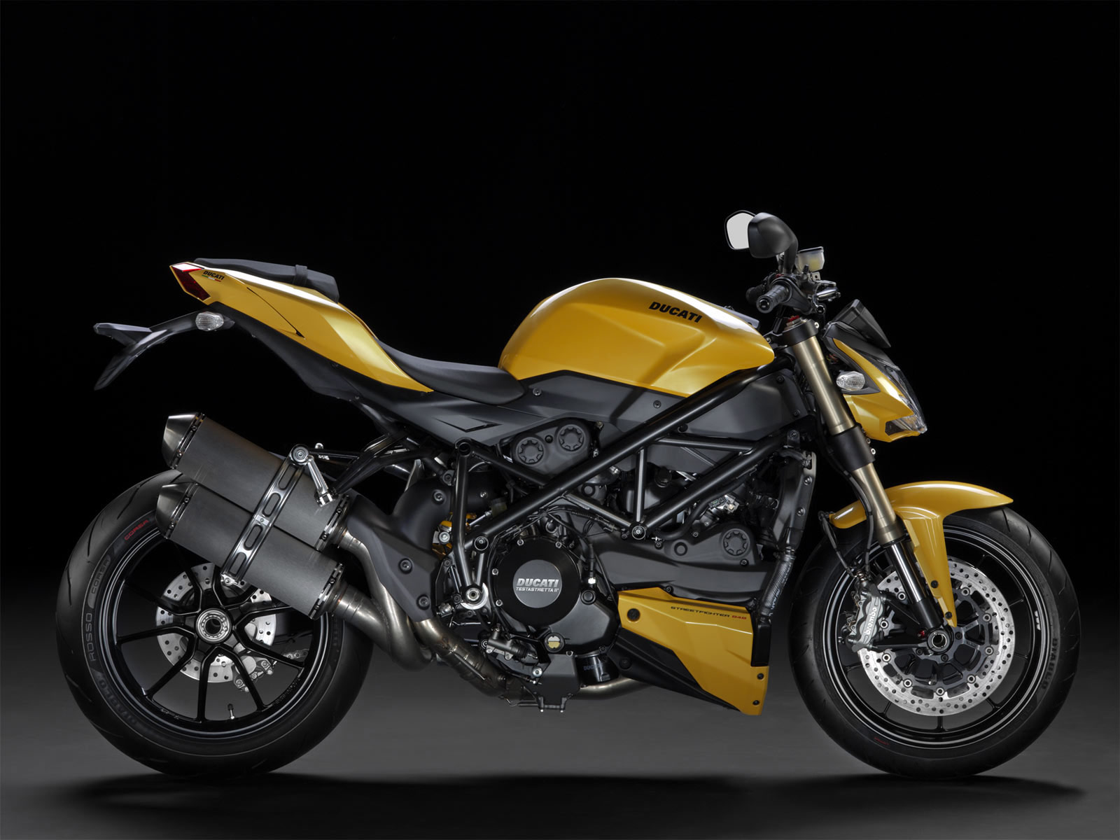 Ducati confirm their 2012 Streetfighter 848 with the first officially ...