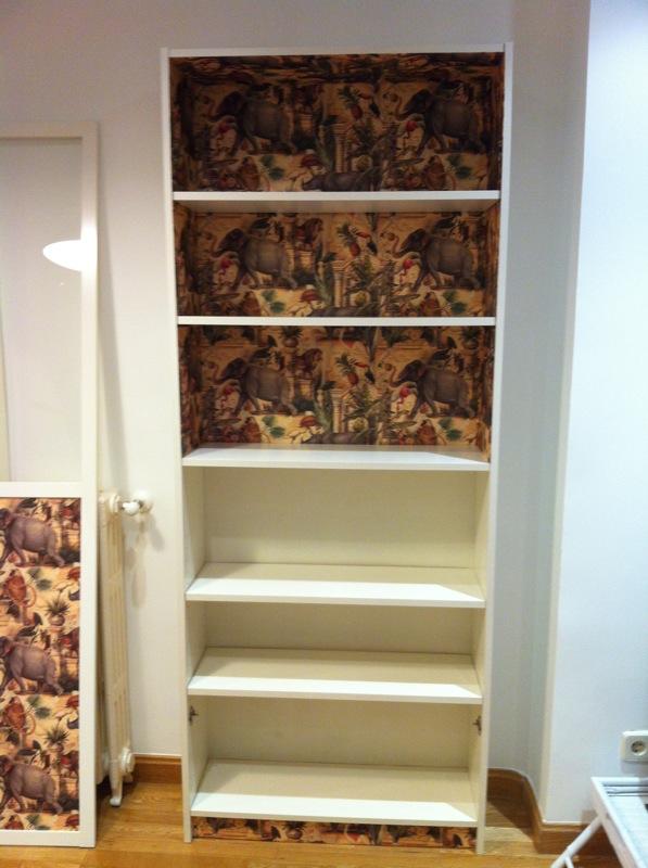 Una nueva billy con cartonnage mi llave allen - Libreria billy con puertas ...