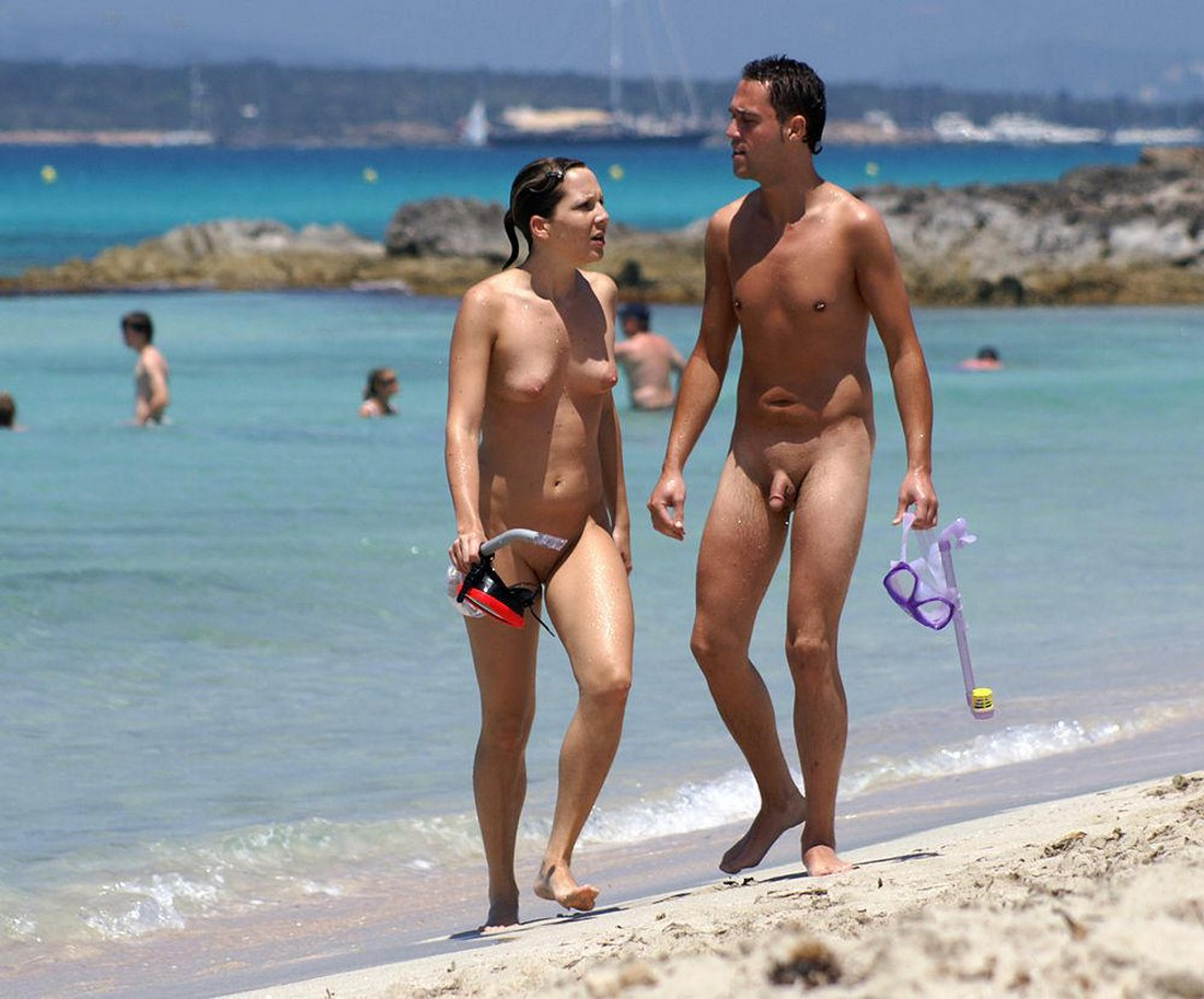 Hot nudist couples boy it, can't