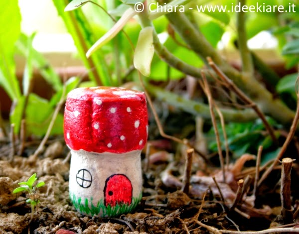 Decorare vasi giardino