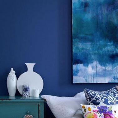 Color Azul, Tendencia de Decoración para la Sala de estar ...