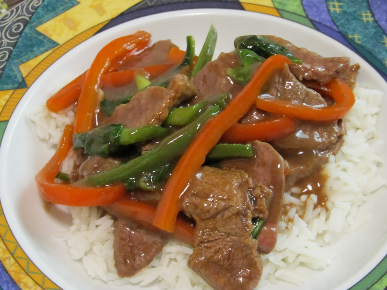 Jenn's Food Journey: Korean Beef Stir-Fry