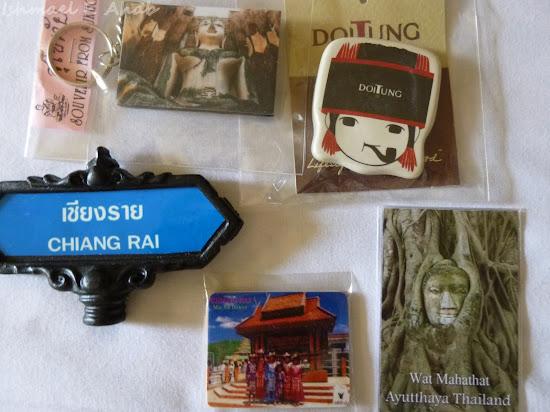 Thailand souvenir ref magnets