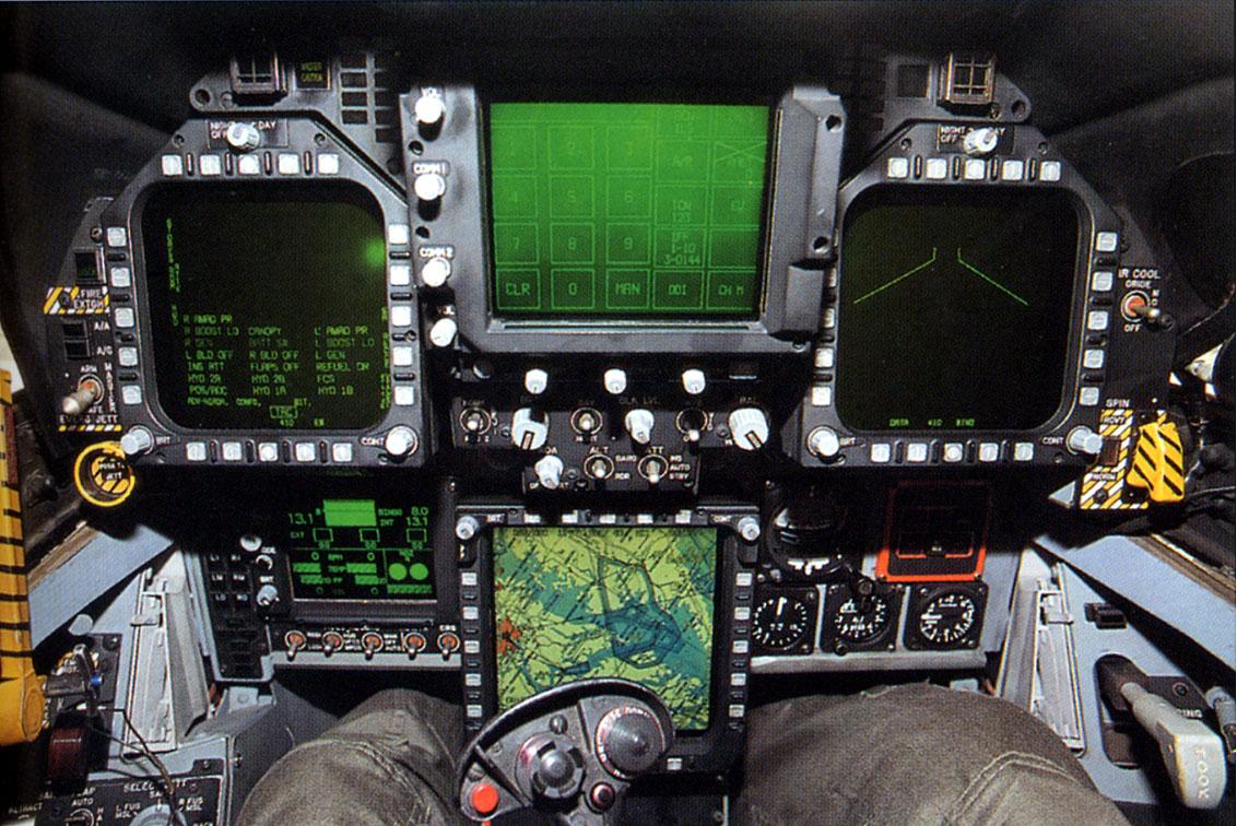 F 18 Cockpit Layout HI-TECH Automot...