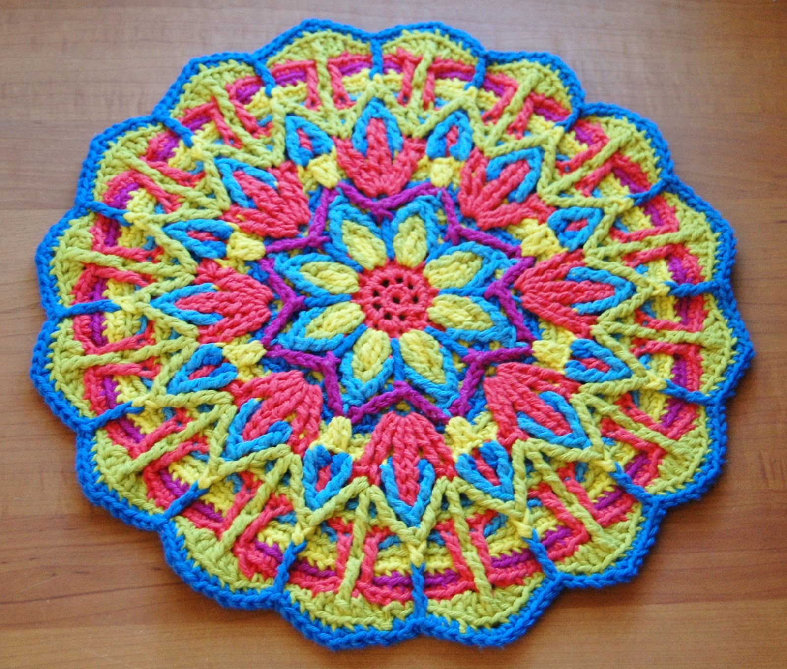 Overlay Crochet Mandala CAL Petals to Picots