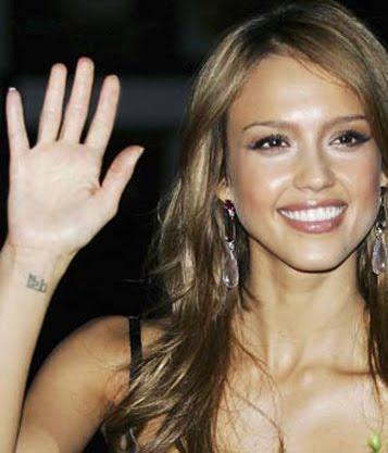 celebrity wrist tattoos