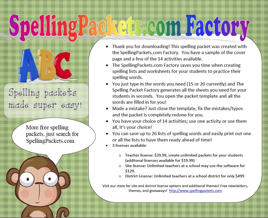 5th Grade Spelling Words List 5th grade spelling words