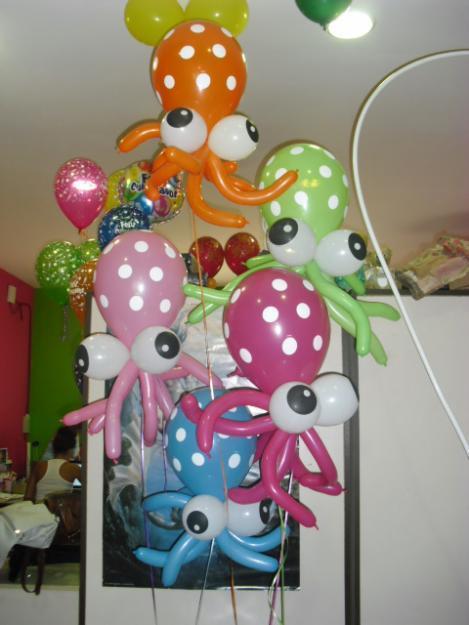 Decoración de globos para niños - Imagui