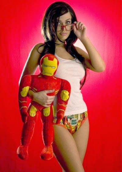 Calcinhas dos super-heróis