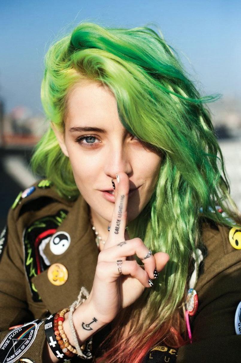 Good Morning Angel.: Hair Dye Inspiration ~ emerald forests. | 805 x 1210 jpeg 152kB